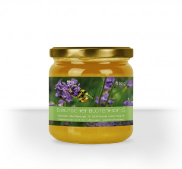 """Kleine Honigglas-Etiketten """"Lila Nektargenuss"""""""