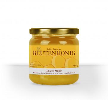 """Kleine Honigglas-Etiketten """"Siegelhonig"""""""