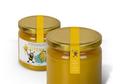 """Siegeletiketten """"The Bee"""" gelb"""