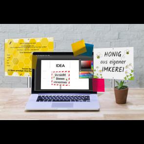 Grafikdesign-Services für Werbeschilder