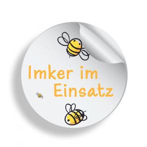 """Aufkleber """"Bee Fun"""""""