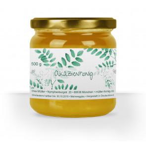 "Honigglas-Etikett ""Akazienhonig"""