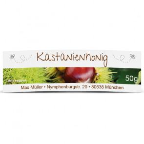 """Mini-Etikett """"Kastanienhonig"""""""
