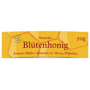 """Ansicht Mini-Honigglasetiketten """"Siegelhonig"""""""