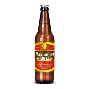"""Bieretiketten """"Max Ur-Typ"""" auf Bierflasche"""