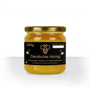 """Kleines Honigglasetikett """"Goldbiene"""""""