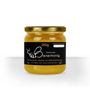 """Kleines Honigglasetikett """"Herzbiene"""""""