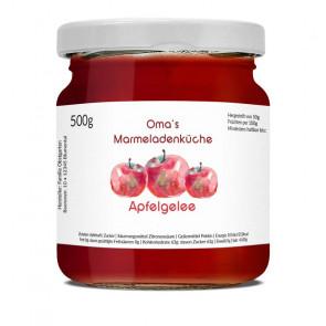 """Etikett """"Aquarell Apfel"""" auf Glas"""