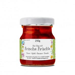 """Ansicht Marmeladenetikett """"Frische Früchte"""""""