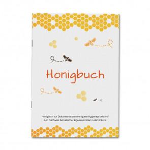 Profi Honigbuch - Titelseite