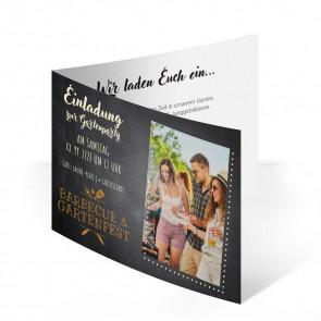"""Einladungskarte """"Grillparty"""""""