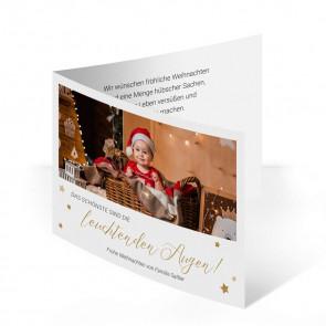 """Weihnachtskarten """"Goldsternchen"""""""