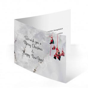 """Weihnachtskarte """"Schneegarten"""""""