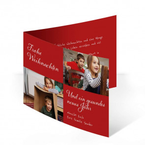 "Weihnachtskarten ""Familienglück"""