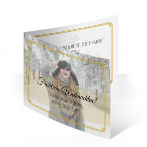 """Weihnachtskarten """"Winterglanz"""""""