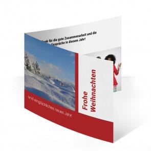 """Weihnachtskarten """"Bauhaus"""""""