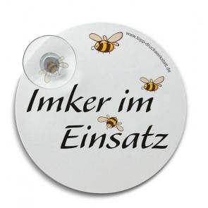 """Hinterglasschild """"Bienenfreund"""""""