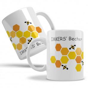 """Keramiktasse """"Imkers Becher"""""""