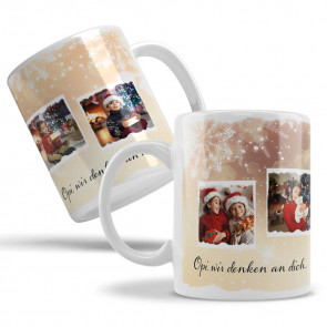 """Keramiktasse """"Weihnachtsgalerie"""""""