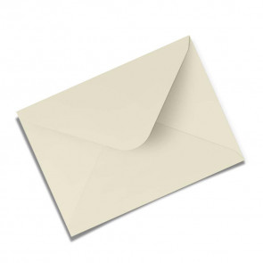Briefumschlag, creme, gummeriert