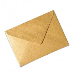 Briefumschlag, gold, gummeriert