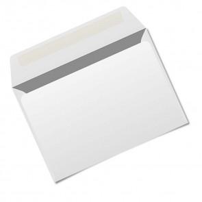 Briefumschlag, weiß, selbstklebend