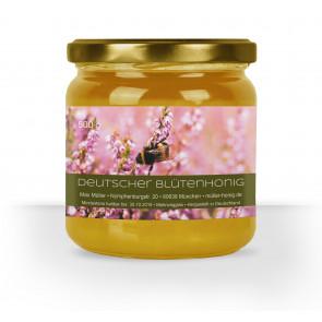 """Honigglas-Etiketten """"Frische Heide"""" in Braun"""