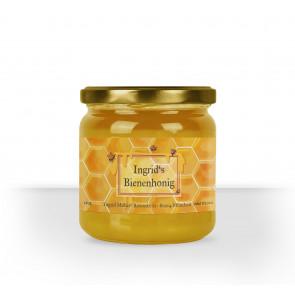 """Kleine Honigglas-Etiketten """"Ingrids Honig"""""""