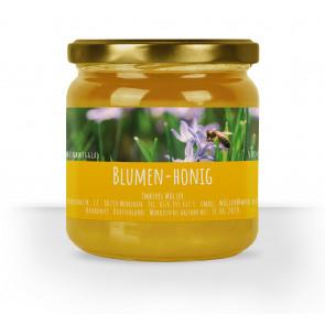 """Honigglas-Etikett """"Lavendel"""" gelb"""