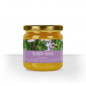 Kleines Honigglasetikett Lavendel in Lila