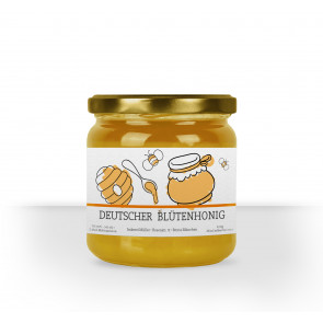 "Kleine Honigglas-Etiketten ""The Bee"""