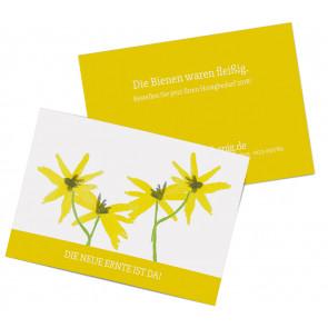 """Werbepostkarten """"Floral"""""""