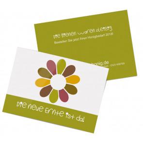 """Werbepostkarten """"Flowerpower"""""""