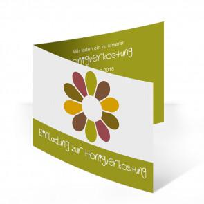 """Einladungskarten """"Flowerpower"""""""