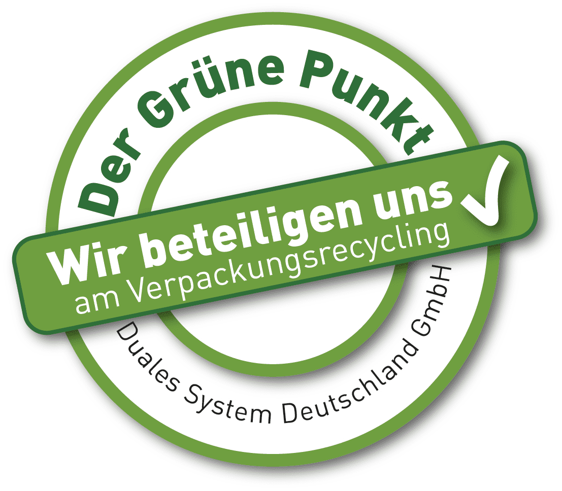 Grüner Punkt-Logo des Dualen System Deutschland